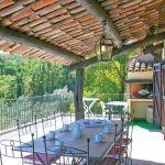 Ferienhaus Toskana TOH435 Esstisch auf der Terrasse