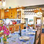 Ferienhaus Toskana TOH435 Küche mit Esstisch