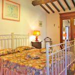Ferienhaus Toskana TOH435 Schlafzimmer mit Doppelbett