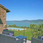 Ferienhaus Toskana TOH435 Sitzgruppe auf der Terrasse