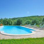Ferienhaus Toskana TOH435 Sonnenliegen am Pool
