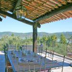 Ferienhaus Toskana TOH435 Terrasse mit Ausblick
