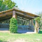 Ferienhaus Toskana TOH435 Tischtennisplatte unter dem Carport