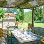 Ferienhaus Toskana TOH745 Pavillon mit Esstisch