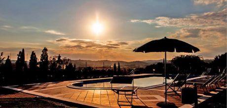 Ferienhaus Toskana Pozzo della Chiana 950 mit Pool für 20 Personen, kostenlose Stornierung bis 45 Tage vor Anreise für alle Neubuchungen, Wechseltag Samstag, Nebensaison flexibel auf Anfrage.