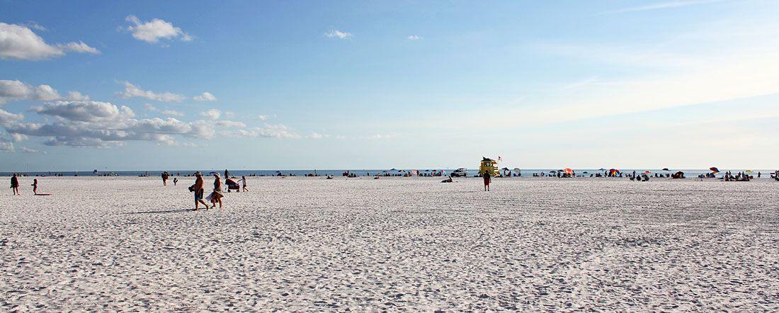 Florida Strand Siesta Beach