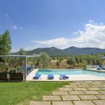 Villa Mallorca MA4292 Blick über den Pool