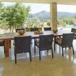 Villa Mallorca MA4292 Esstisch auf der Terrasse