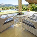 Villa Mallorca MA4292 Gartenmöbel auf der Terrasse