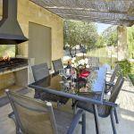 Villa Mallorca MA4292 Grillbereich mit Esstisch