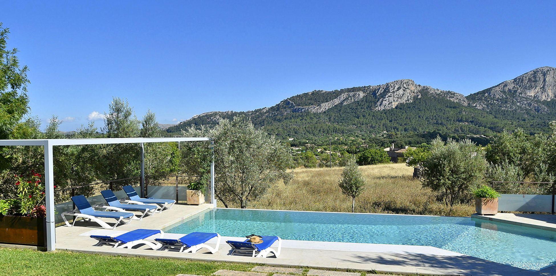 Luxus Ferienhaus Mallorca Pollensa 4292 Mit Pool Mieten