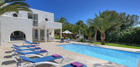 Mallorca Südostküste – Villa Cala D'Or 5654 mit Pool + Internet am Meer für 8 Personen, Strand 400m. Wechseltag Samstag.