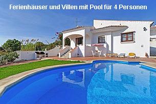 Ferienhäuser Costa del Sol mit Pool 4 Personen