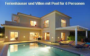 Ferienhäuser und Villen Algarve 6 Personen