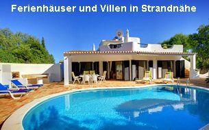 Ferienhäuser und Villen Algarve in Strandnähe