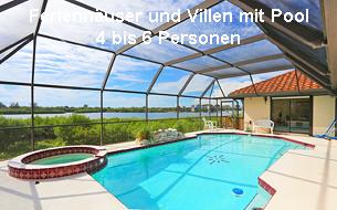 Ferienhäuser und Villen Florida 4 - 6 Personen