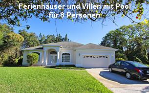 Ferienhäuser und Villen Florida 8 Personen
