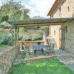 Ferienhaus Toskana TOH350 überdachte Terrasse
