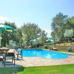 Ferienhaus Toskana TOH350 Gartenmöbel am Pool