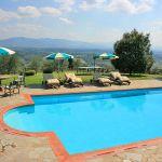 Ferienhaus Toskana TOH350 Sonnenliegen am Pool