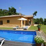 Costa Brava Ferienhaus CBV3177 Poolbereich