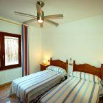 Costa Brava Ferienhaus CBV3177 Zweibettzimmer