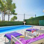 Ferienhaus Costa Brava CBV33232 Liegen am Pool