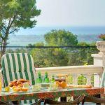 Ferienhaus Costa Brava CBV33232 Terrasse mit Ausblick