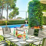 Ferienhaus Costa Brava CBV33232 Terrasse mit Esstisch