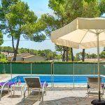 Ferienhaus Costa Brava CBV33232 Terrasse mit Gartenmöbel