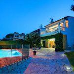 Ferienhaus Costa Brava CBV33232 am Abend beleuchtet