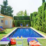 Ferienhaus Costa Brava mit Pool CBV3179 Liegen am Pool