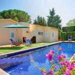 Ferienhaus Costa Brava mit Pool CBV3179 Pool mit Gartenmöbel