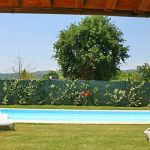 Ferienhaus Toskana TOH576 Blick auf den Pool