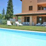 Ferienhaus Toskana TOH576 Liegen am Pool