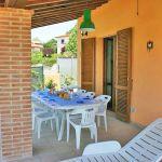 Ferienhaus Toskana TOH576 Terrasse mit Gartenmöbel