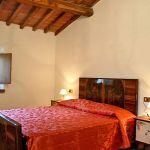 Ferienhaus Toskana mit Pool und Hund TOH380 Doppelbettzimmer