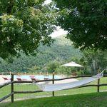Ferienhaus Toskana mit Pool und Hund TOH380 Garten