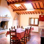 Ferienhaus Toskana mit Pool und Hund TOH380 Küche