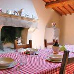 Ferienhaus Toskana mit Pool und Hund TOH380 Kamin