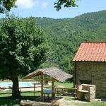 Ferienhaus Toskana mit Pool und Hund TOH380 Zufahrt zum Haus