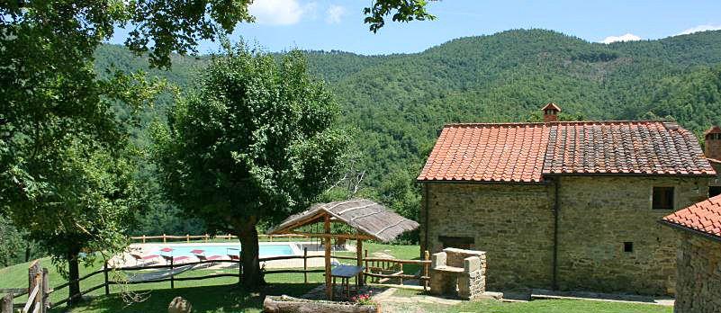 Ferienhaus Toskana mit Pool und Hund TOH380
