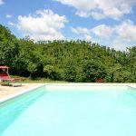 Ferienhaus Toskana mit Pool und Hund TOH380 privater Swimmingpool