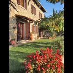 Ferienhaus Toskana mit Pool und Hund TOH409 Blumen im Garten