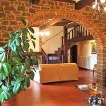Ferienhaus Toskana mit Pool und Hund TOH409 Bogengang zum Wohnraum