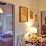 Ferienhaus Toskana mit Pool und Hund TOH409 Eingang zum Schlafraum