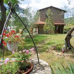 Ferienhaus Toskana mit Pool und Hund TOH409 Garten
