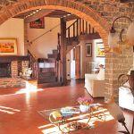 Ferienhaus Toskana mit Pool und Hund TOH409 Kamin