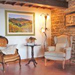 Ferienhaus Toskana mit Pool und Hund TOH409 Sitzecke