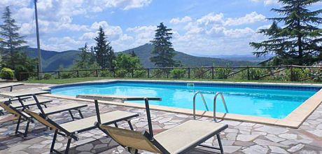 Ferienhaus Toskana Pergo 409 mit Pool für 10 Personen mieten, Wohnfläche 250qm. Wechseltag Samstag, Nebensaison flexibel auf Anfrage.